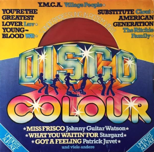 V/A - Disco Colour (LP) (Red Vinyl) (G+/G++)